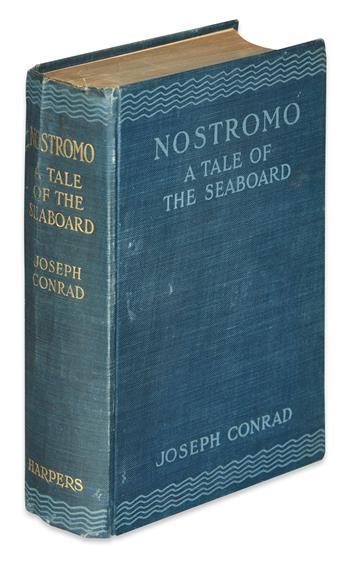 CONRAD, JOSEPH. Nostromo: A Tale of the Seaboard.