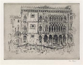 JOHN MARIN Ca dOro, Venice.