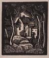 JAMES LESESNE WELLS (1902 -1992) Landscape.