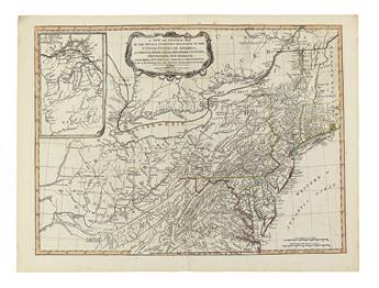 SAYER, ROBERT; and BENNETT, JOHN. The American Military Pocket Atlas.