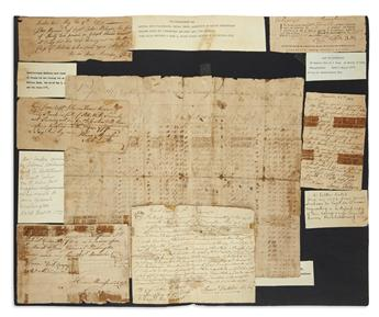(AMERICAN REVOLUTION--1777.) Papers of Captain John McIlvain of the Pennsylvania militia and his family.