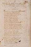 NOSTREDAME, ANDRÉ DE. Le Repantir Spirituel de Andre de Nostredames Gentilhome Provençal.  Manuscript.  1587