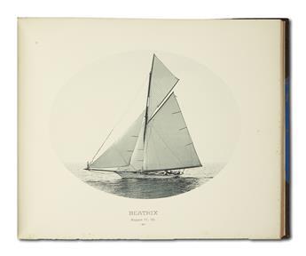 (SPORTS--YACHTING.) Representative American Yachts.