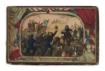 (CIVIL WAR.) The Myriopticon, a Historical Panorama of the Rebellion.