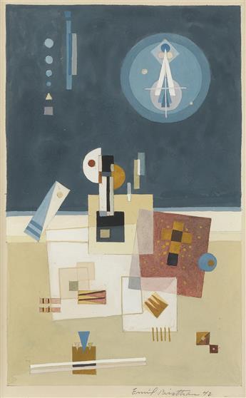 EMIL BISTTRAM Abstraction.