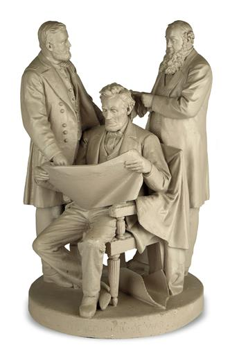 (SCULPTURE.) [Rogers, John; sculptor.] The Council of War.