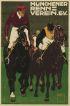LUDWIG HOHLWEIN (1874-1949) MUNCHENER RENN VEREIN. 1910. 47x34 inches. G. Schuh, Munich.