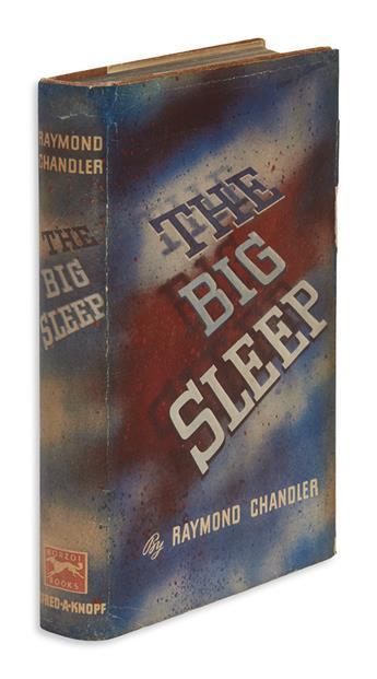 CHANDLER, RAYMOND. Big Sleep.