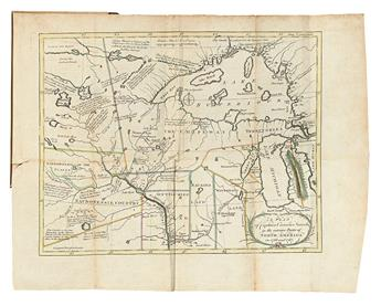CARVER, JOHN. Travels through the Interior Parts of North America, in the Years 1766, 1767, and 1768.