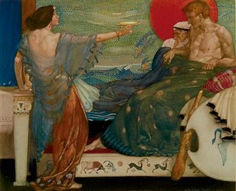 KINGSLEY, CHARLES. WILLIAM RUSSELL FLINT.  The Heroes, or Greek Fairy Tales for my Children.