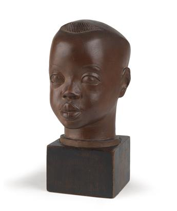 SARGENT JOHNSON (1988 - 1967) Head of a Negro Boy.
