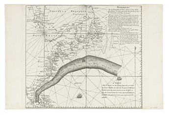 ROUGE, GEORGE LOUIS le. Remarques Sur la Navigation de Terre-Neuve a New York