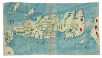 (JAPAN.) [Shihei, Hayashi]. Sangoku Tsuran Zusetsu.