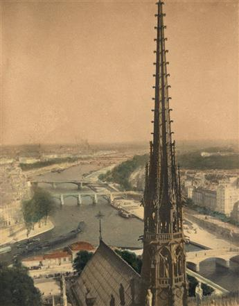 STRAND, PAUL (1890-1976) Paris from Notre Dame.