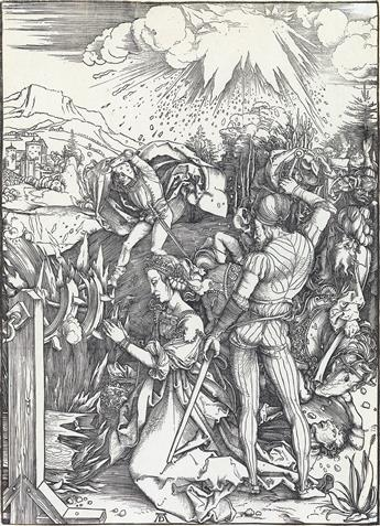 ALBRECHT DÜRER The Martyrdom of St. Catherine.