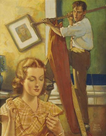 RALPH PALLEN COLEMAN. Sunday Chores.