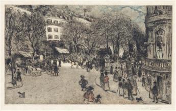 JEAN-FRANÇOIS RAFFAËLLI Le Boulevard des Italiens.