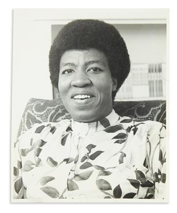 (LITERATURE.) Group of Octavia Butler papers.