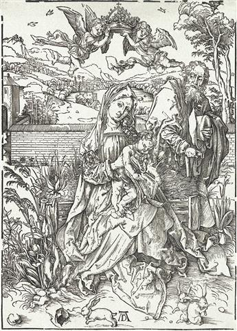 ALBRECHT DÜRER The Holy Family with the Three Hares.