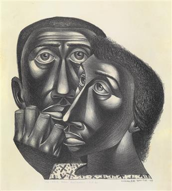 CHARLES WHITE (1918 - 1979) We Have Been Believers.