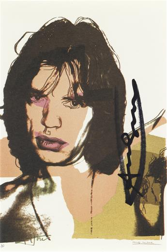 ANDY WARHOL (after) Mick Jagger