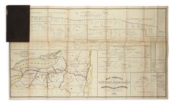 (NEW YORK.) State Engineer and Surveyor. Engravings of Plans, Profiles and Maps,