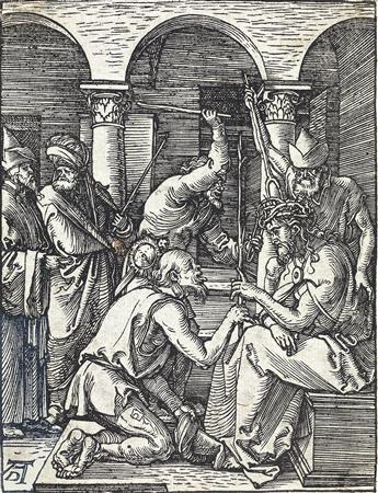 ALBRECHT DÜRER Christ Crowned with Thorns.