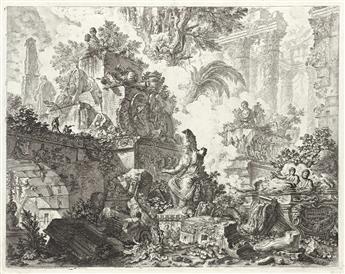 GIOVANNI B. PIRANESI Vedute di Roma, frontespizio.