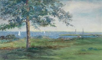 LOÏS MAILOU JONES  (1905 - 1998) Hingham Bay.