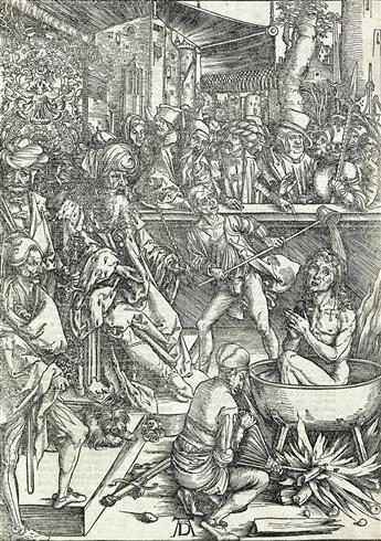 ALBRECHT DÜRER The Martyrdom of St. John.