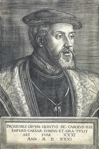BARTHEL BEHAM Emperor Charles V.