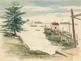 PALMER HAYDEN (1890 - 1973) Boothbay Harbor, Maine.