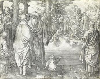 LUCAS VAN LEYDEN The Baptism of Christ.