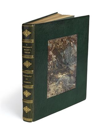 (RACKHAM, ARTHUR.) Shakespeare, William. A Midsummer Nights Dream.