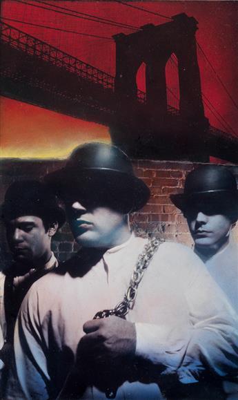 MARC TAUSS. Gangs of New York.