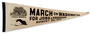 (CIVIL RIGHTS.) KING, MARTIN LUTHER JR. March on Washington for Jobs and Freedom.