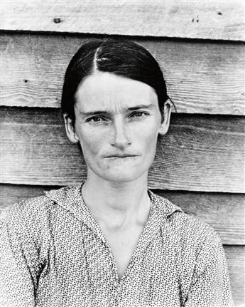EVANS, WALKER (1903-1975) Allie Mae Burroughs, Alabama Tenant Farmer Wife.