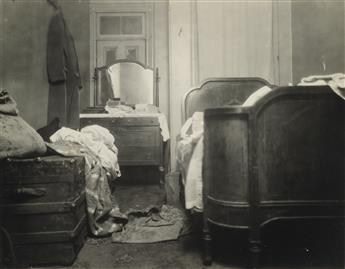(CRIME) Collection of more than 55 forensic photographs depicting the sad and quotidian nature of crime scenes, with interior and exter