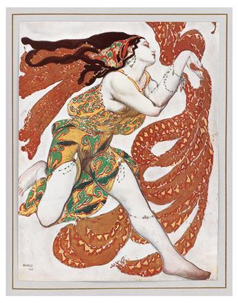 (BAKST, LÉON.) Alexandre, Arséne. The Decorative Art of Léon Bakst.