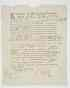 (SLAVE DOCUMENT.) Partially printed document, accomplished by hand. Single 8vo leaf, signed by William Axtell as Justice and witnessed