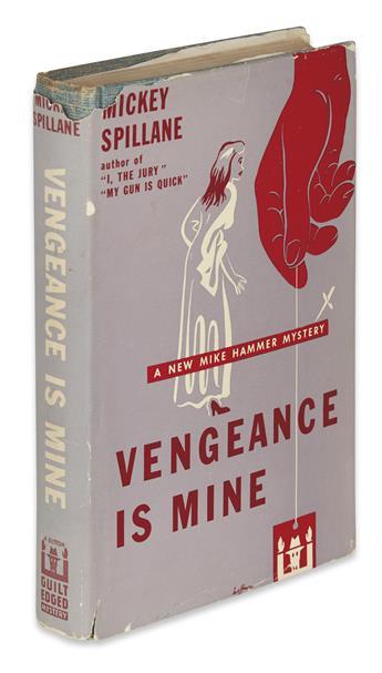 SPILLANE, MICKEY. Vengeance is Mine.