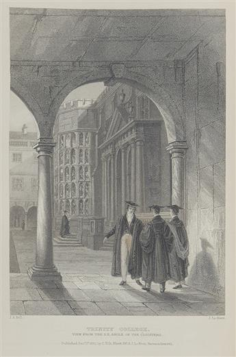 WRIGHT, THOMAS; and H. Longueville Jones. Memorials of Cambridge: A Series of Views of the Colleges, Halls, and Public Buildings.