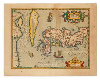(JAPAN.) Mercator, Gerard; and Hondius, Jodocus. Japonia.