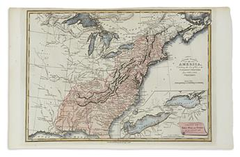 BAINES, EDWARD. United States of America, Exhibiting the Seat of War on the Canadian Frontier from 1812 to 1815.