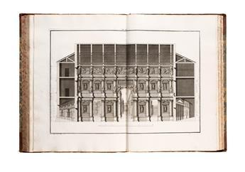 ARCHITECTURE  BERTOTTI SCAMOZZI, OTTAVIO. Le Fabbriche e i Disegni di Andrea Palladio.  4 vols.  1776-83