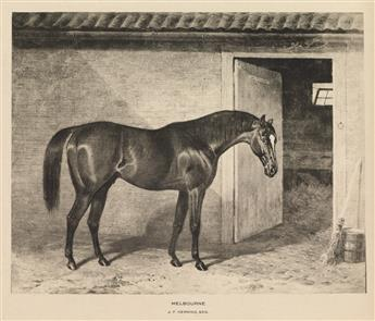 (DERRYDALE PRESS.) Vosburgh, Walter Spencer. Cherished Portraits of Thoroughbred Horses from the Collection of William Woodward.