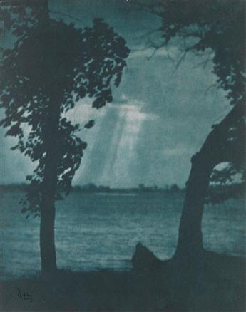 FRANCIS ORVILLE LIBBY (1883-1961) Group of 10 fascinating Pictorialist landscapes and seascapes of New England.
