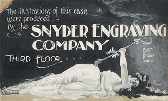 (SNYDER ENGRAVING COMPANY / ADVERTISING.) Printers Muse.