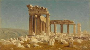 SANFORD ROBINSON GIFFORD Study of the Parthenon.