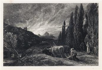 SAMUEL PALMER The Early Ploughman.